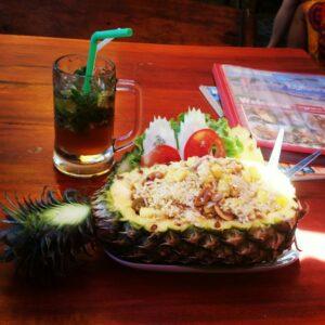 Pineapple meal