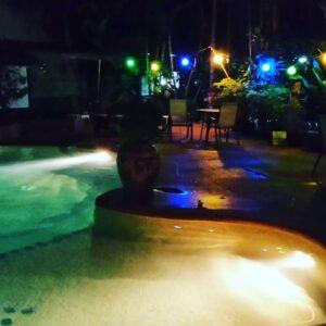 Pool at Shanti