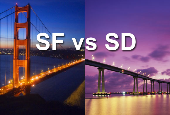 bay area vs los angeles